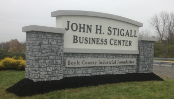 The John H. Stigall Business Center is a planned development within the John Hill Bailey Industrial Park.