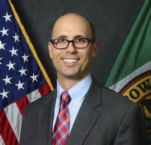 Dustin Anderson, Town Manager