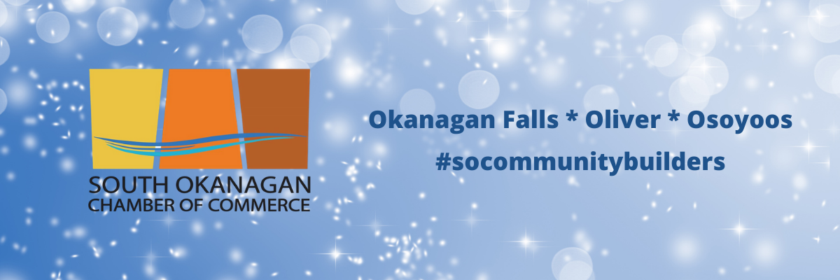 Osoyoos Oliver Okanagan Falls Small Business Warm up our Winter Snow South Okanagan Community Builders