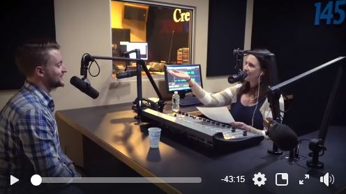 Video Capture Image of ARCC Radio Show with Charles Cornell of Cornell Digital