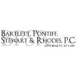 Bartlett, Pontiff, Stewart & Rhodes P.C. logo