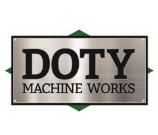 DOTY Machine Works logo