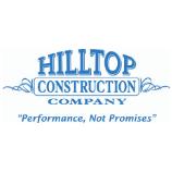 "Hilltop Construction Company ""Performance, Not Promises"" logo"