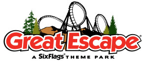 Great Escape - a Six Flags Theme Park logo