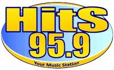 Hits-959 Radio Station Logo