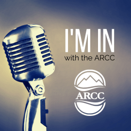 I'm in with the ARCC logo