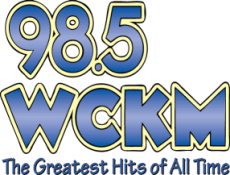 98.5 WCKM Radio Station logo