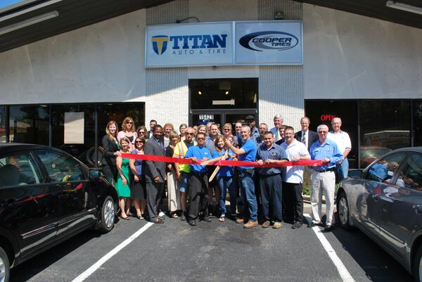 Titan Auto and Tire ribbon cutting.jpg