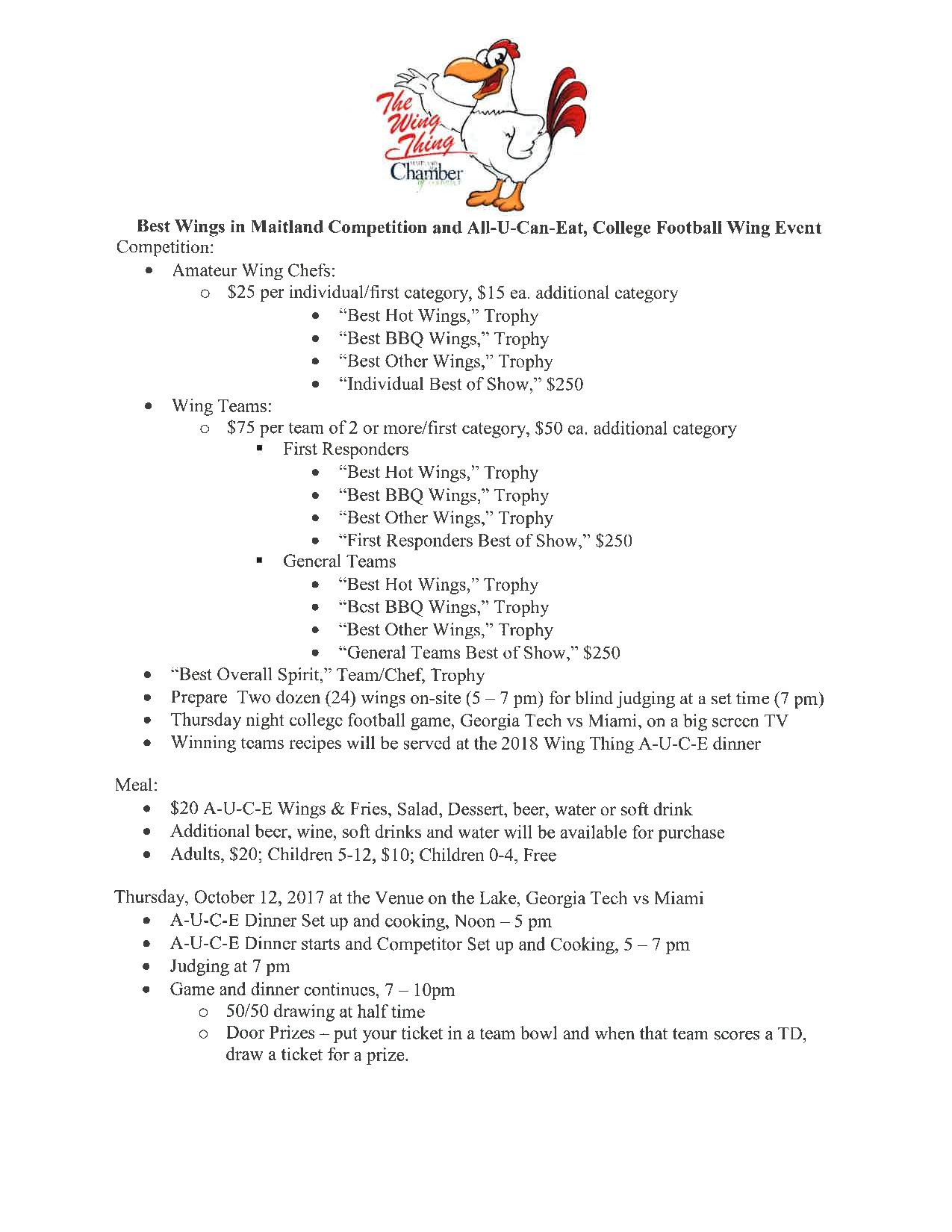 Entry Form & Rules (1 of 4)