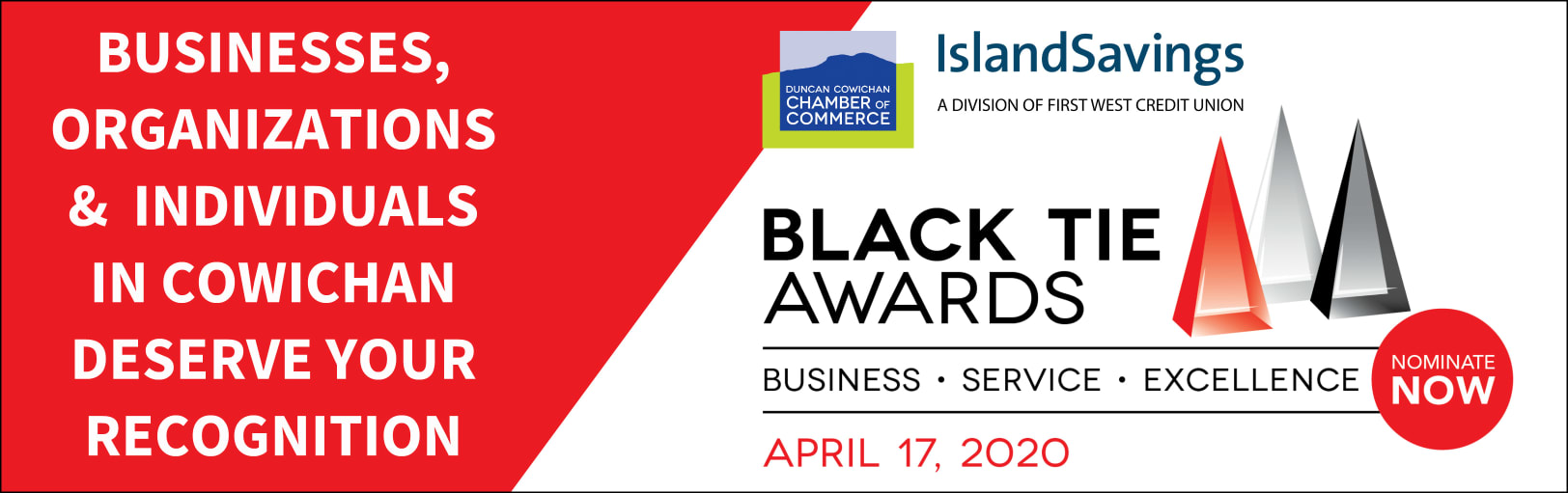 Black Tie Awards | Presented by Island Savings