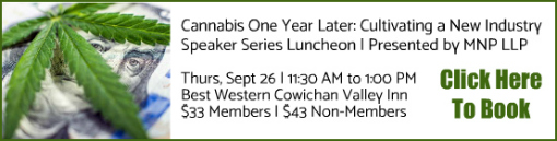 Cannabis One Year Later | Speaker Series Luncheon