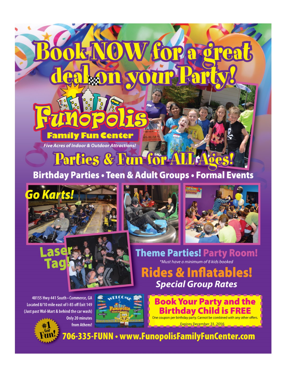 Funopolis coupons