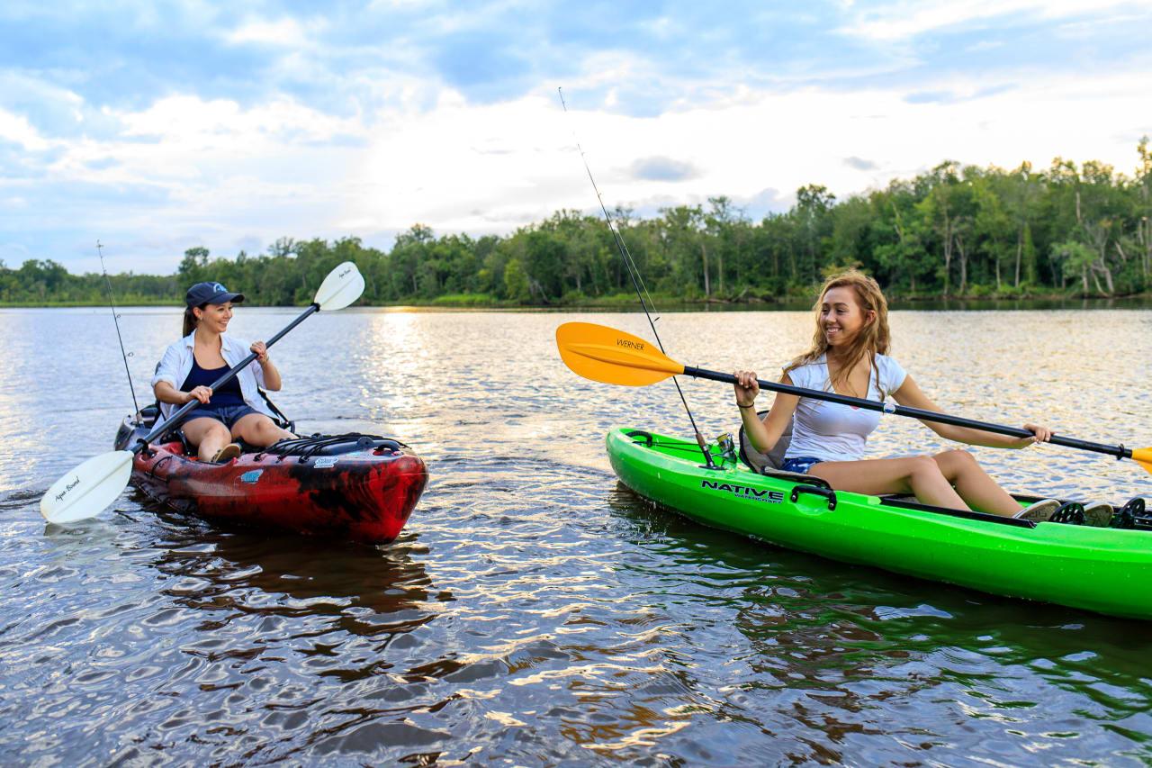 Kayaking on the Appomattox