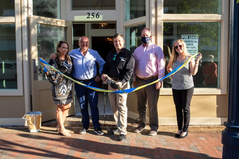 Lunsford Ribbon Cutting