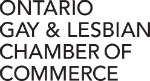 Ontario Gay and Lesbian Chamber of Commerce letters only logo