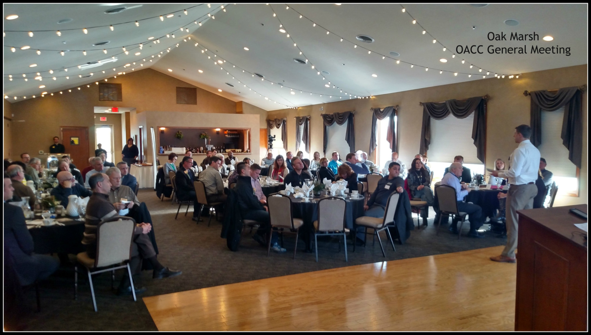 General Meeting at Oak Marsh Golf Course, Oakdale, Minnesota