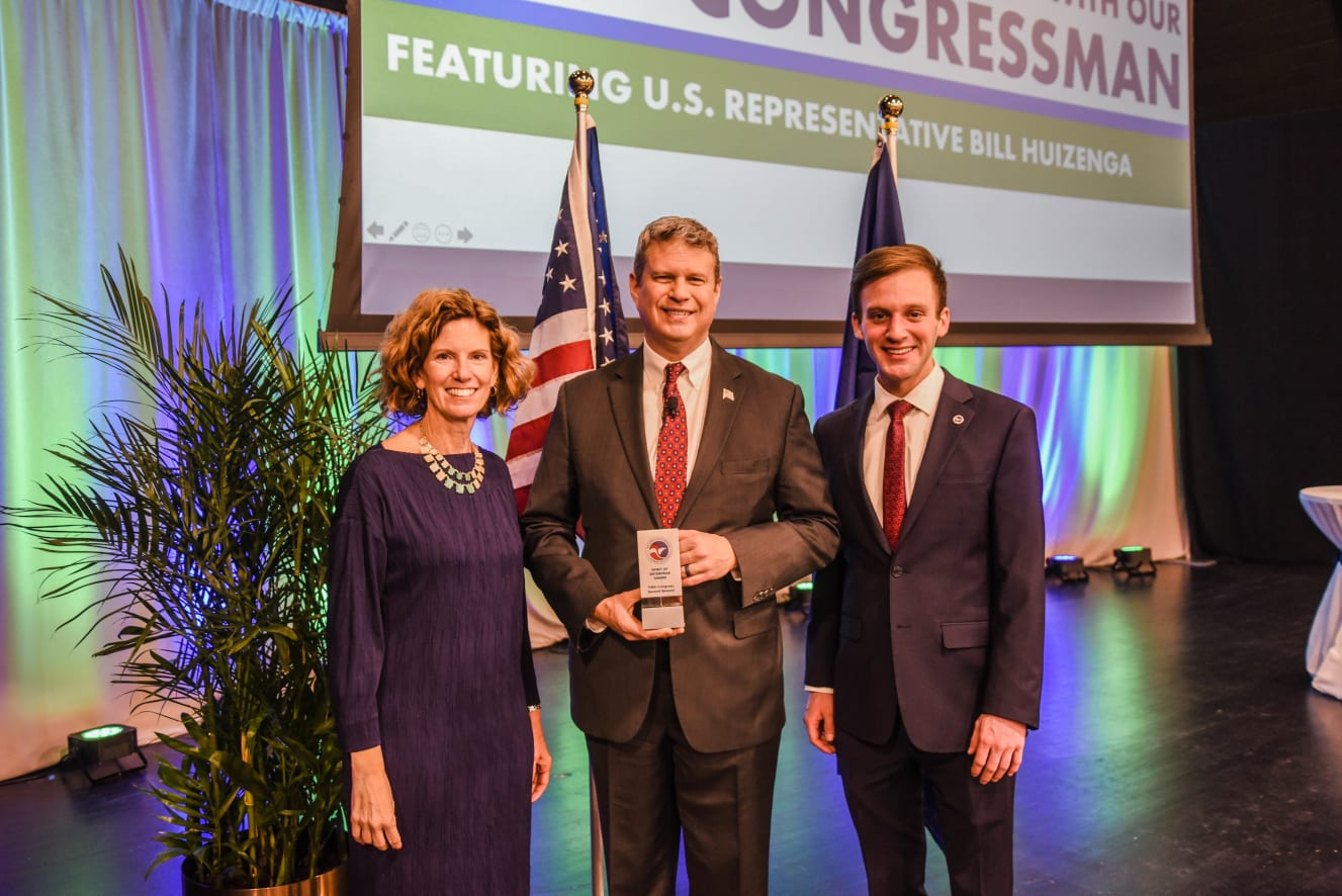 Breakfast with Congressman Bill Huizenga, 2019