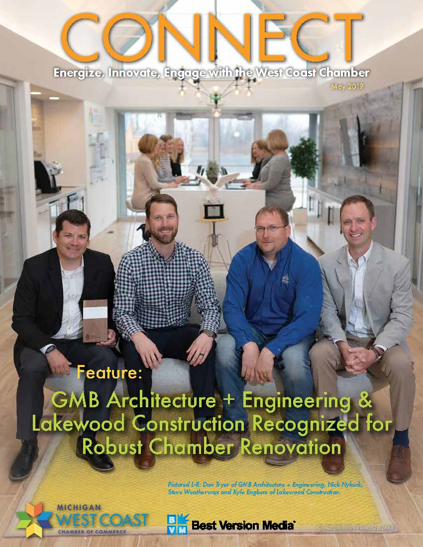 Connect Magazine - Lakewood Construction and GMB Architecture + Engineering