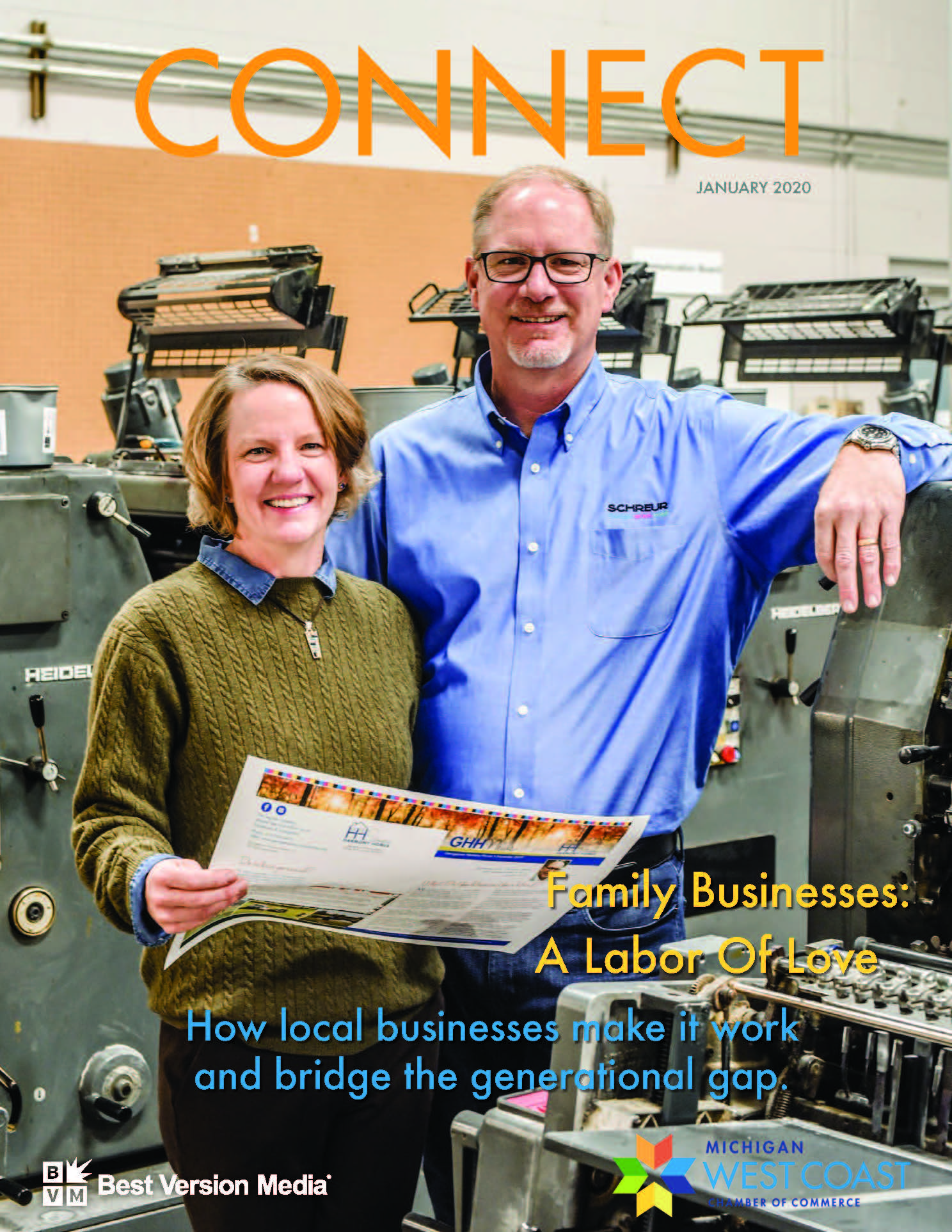 Tim and MaryJane Schreur of Schreur Printing