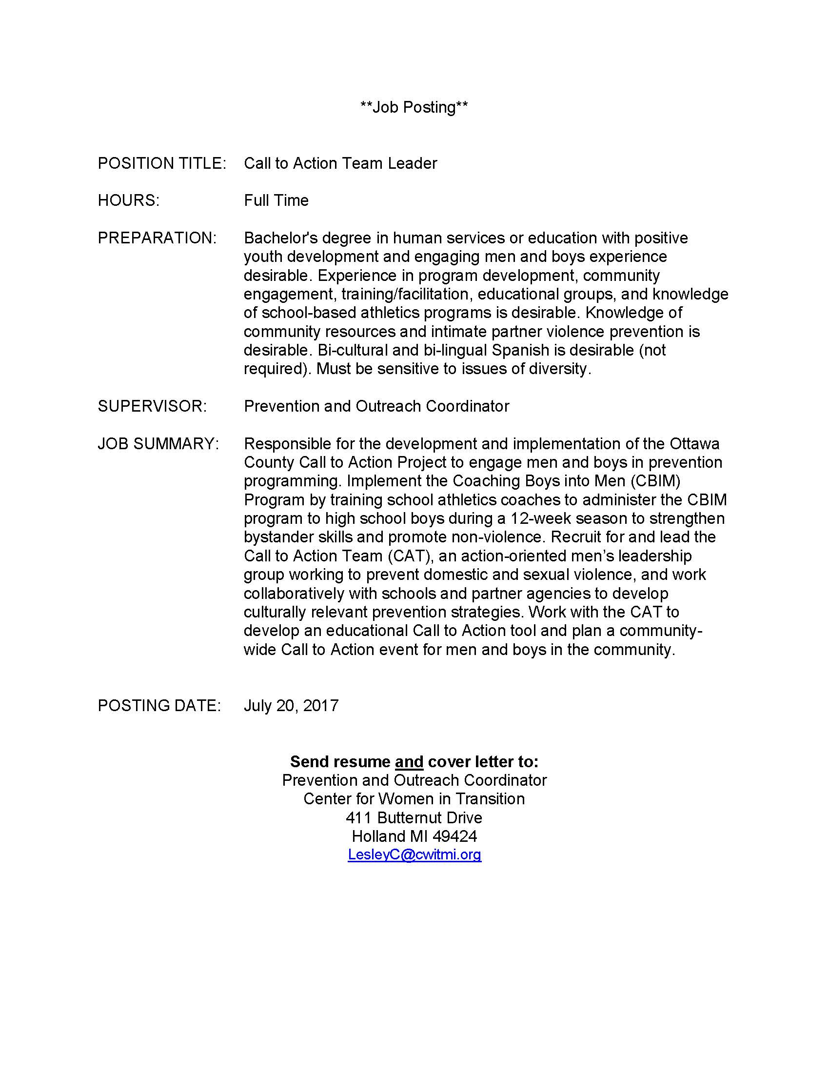 cover letter call to action - Emayti australianuniversities co