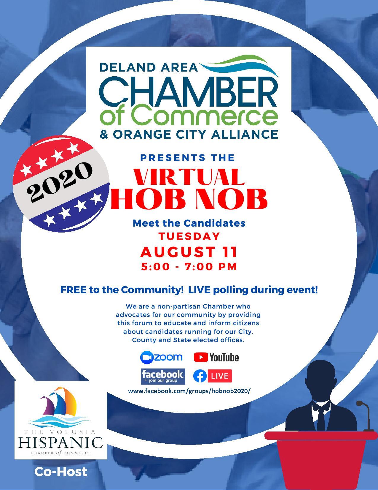2020 Political HOB NOB (Virtual)