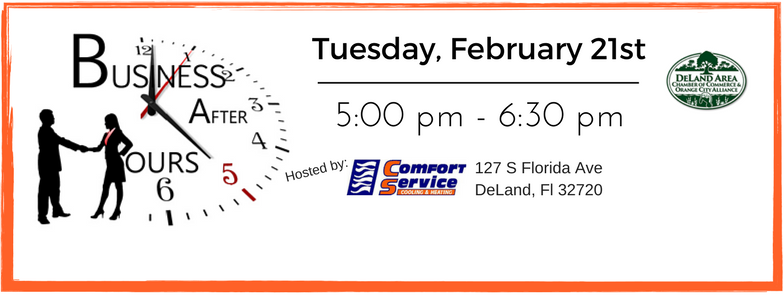 Business After Hours at Comfort Service