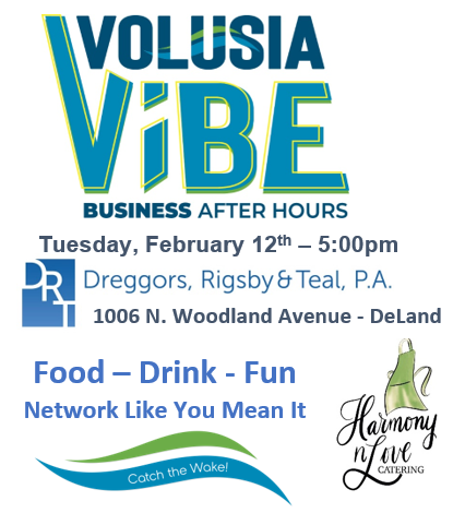 Volusia Vibe Business After Hours Networking Event