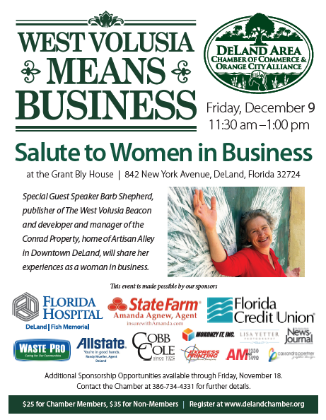 West Volusia Means Business Luncheon