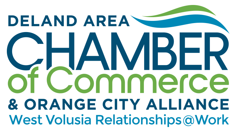 DeLand Chamber of Commerce and Orange City Alliance logo