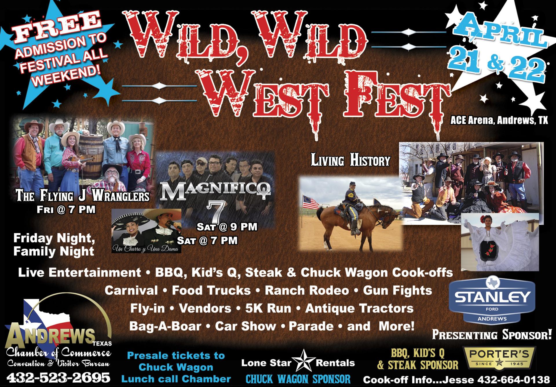 Wild, Wild West Fest 2017