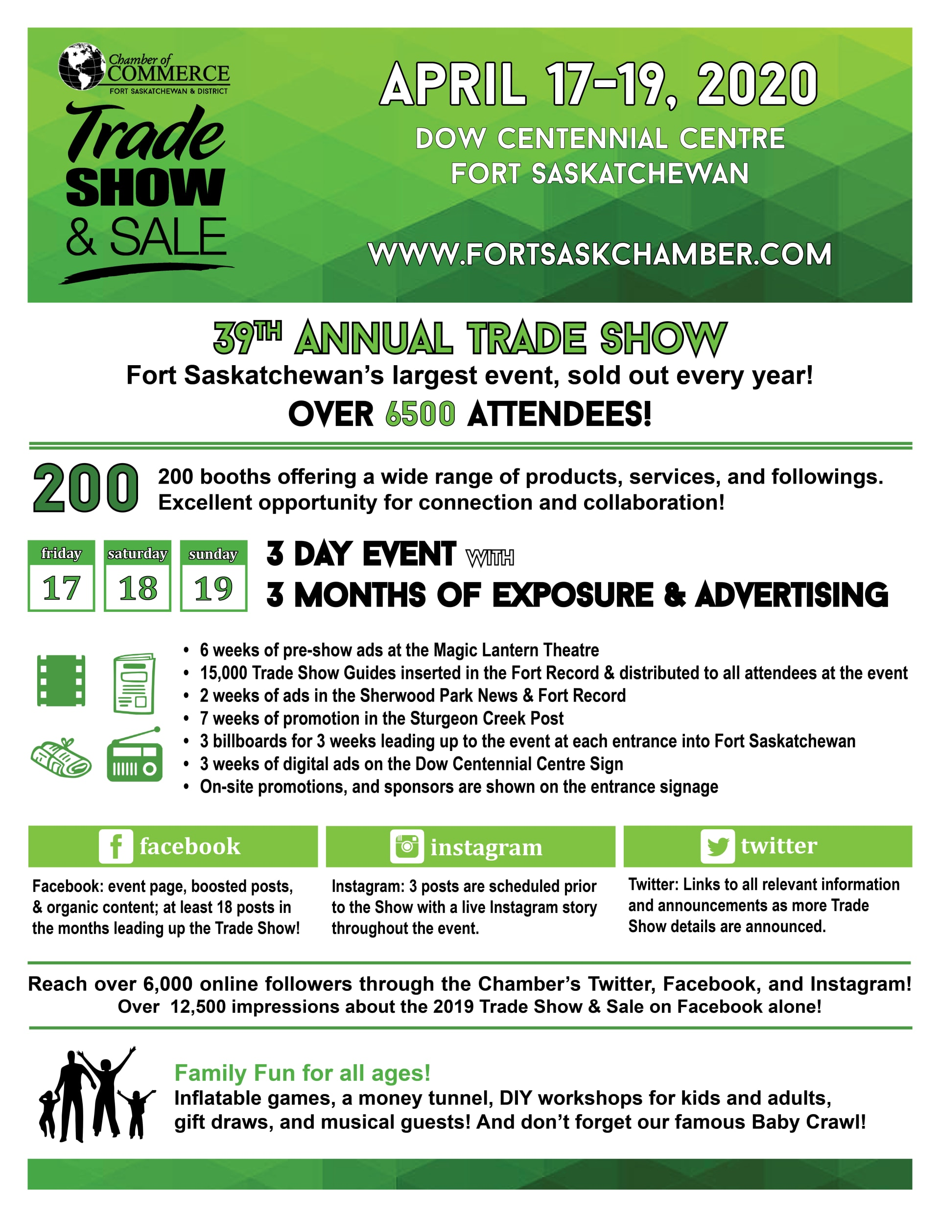 Trade Show InfoGraphic