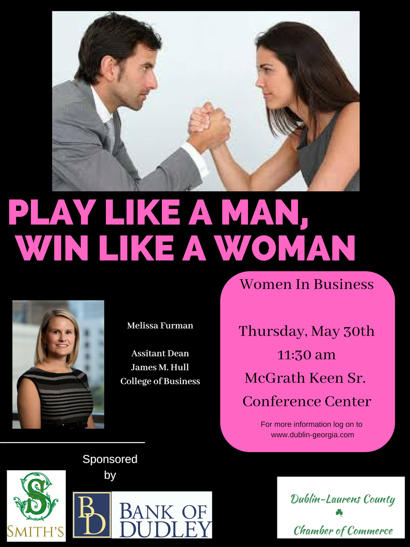 "Women in Business - ""Winning Like a Woman, While Playing Like a Man - Navigating the Game"""