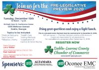 Pre-Legislative Preview 2020