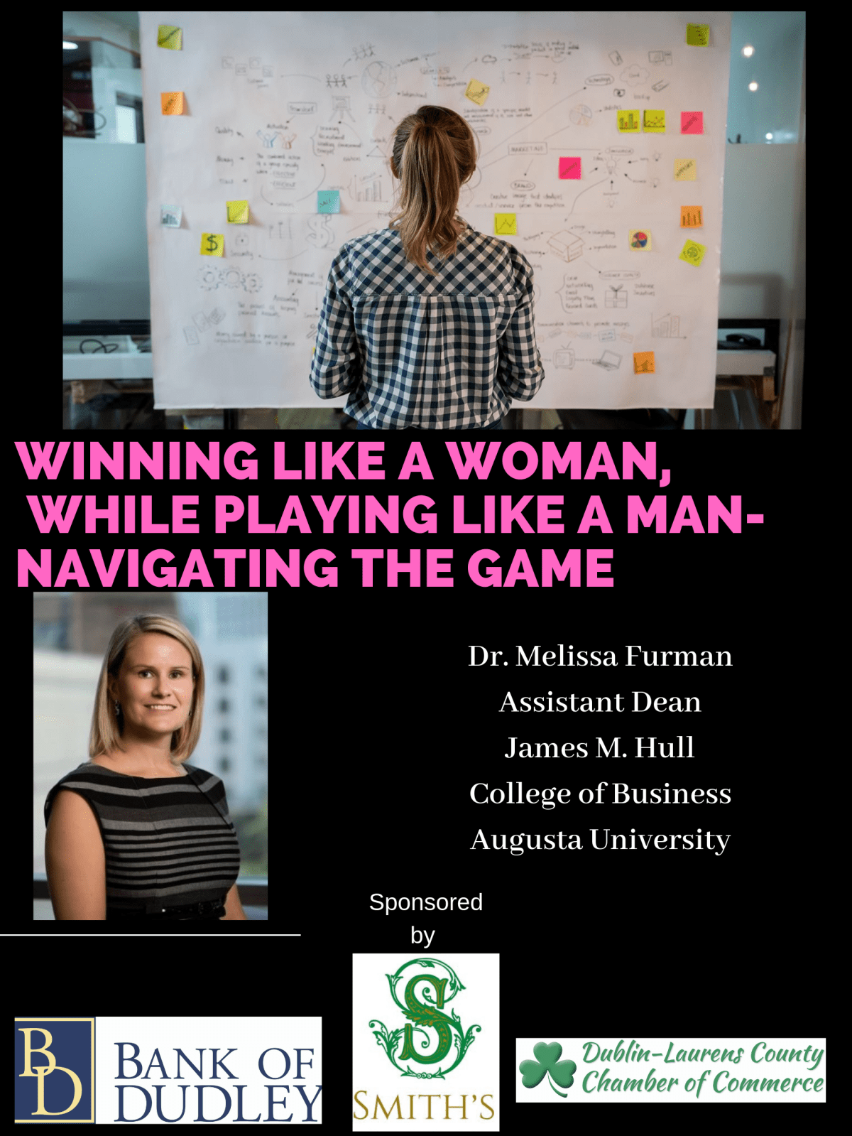 """SOLD OUT! - Women in Business - """"Winning Like a Woman, While Playing Like a Man - Navigating the Game"""""""