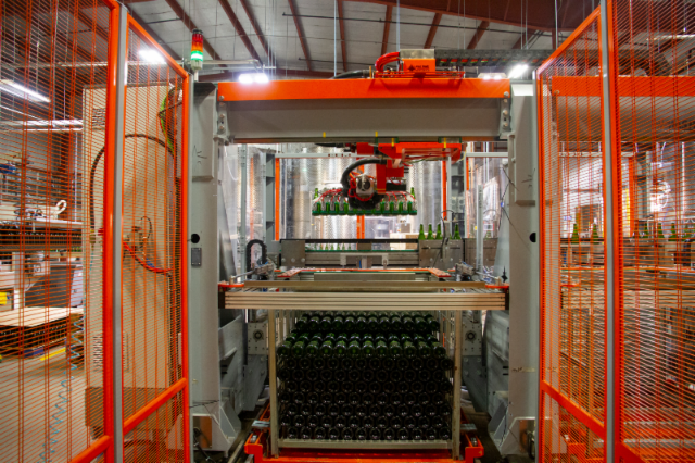 rack and riddle warehouse and sparkling wine production.