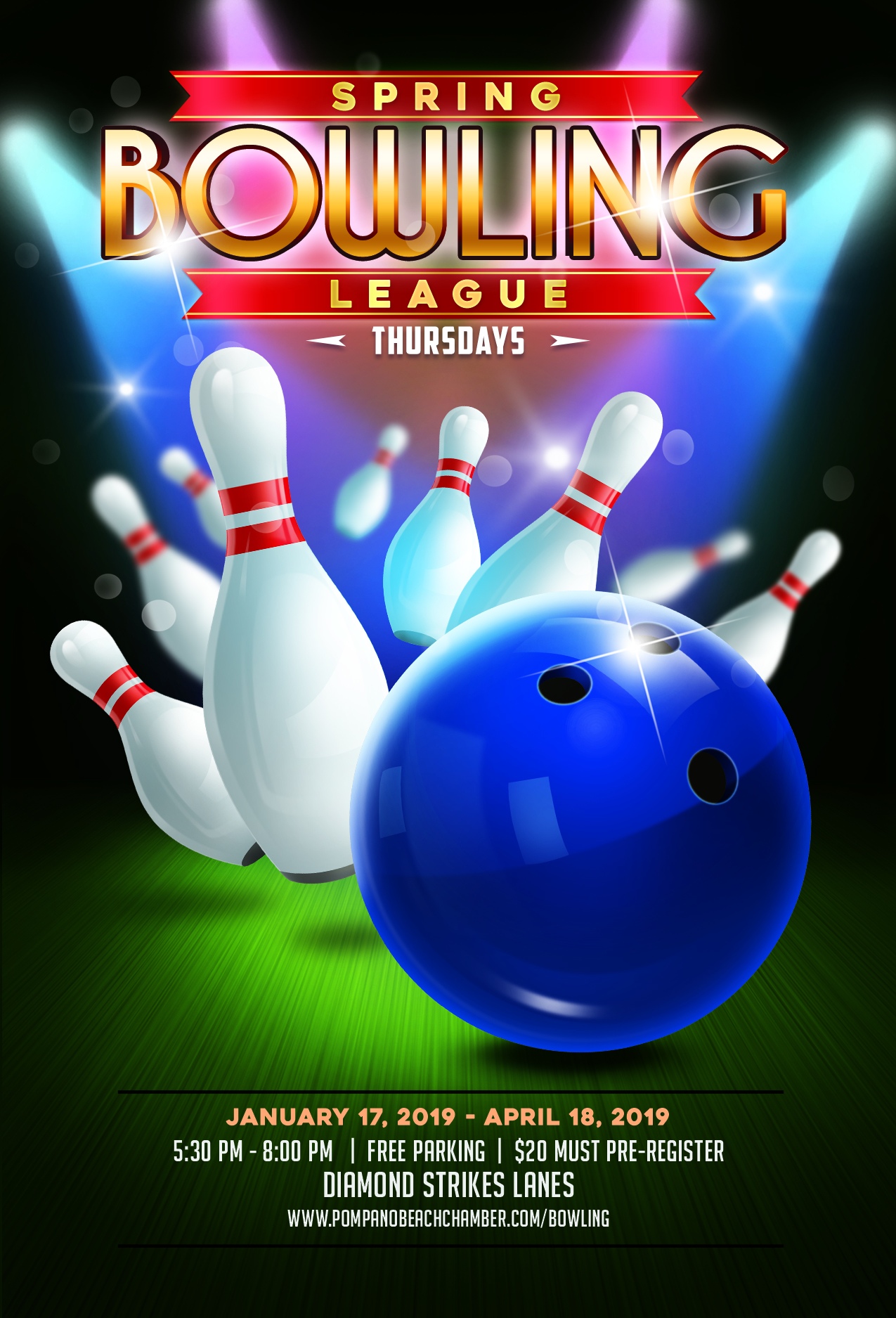 2019 Winter Bowling League