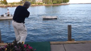Dinghy Golf at Waukegan Harbor