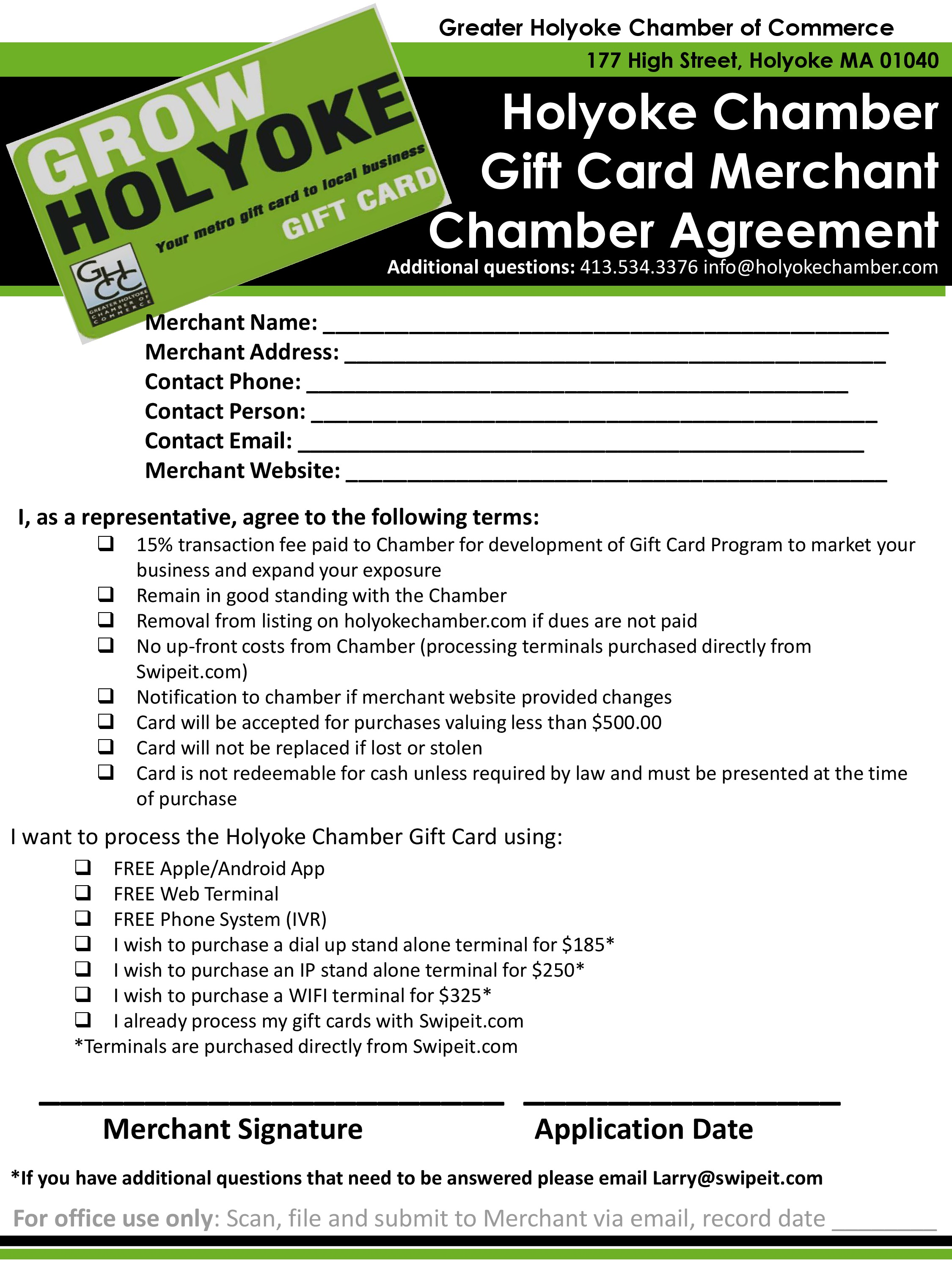 Become A Merchant Greater Holyoke Chamber Of Commerce Ma