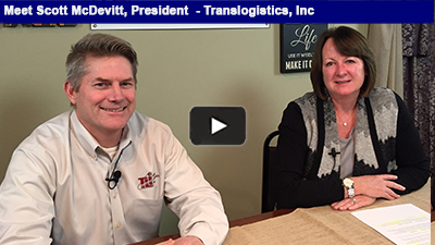 Meet Scott McDevitt, Translogistics, Inc.: Translogistics, Inc. provides solutions to transportation and supply chain challenges head-on.