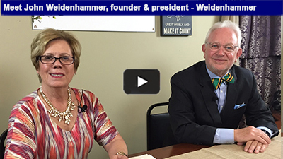 Weidenhammer has proudly been delivering solutions since 1978. View the interview with founder/president - John Weidenhammer!