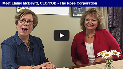 A family-owned manufacturer that is also a certified women's business enterprise. Hear more from Elaine McDevitt of The Rose Corporation!