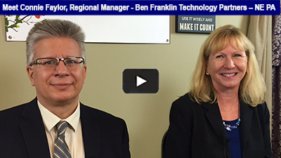 Connie Faylor, Regional Manager for Ben Franklin Technology Partners - NE PA, is excited about the growth of businesses in Berks and beyond! Hear more in this interview with Mark Dolinski, Director - Business Services, Greater Reading Chamber