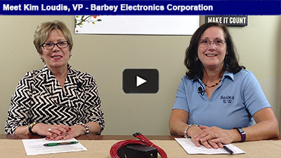 Barbey Electronics is celebrating its 100th year in business – hear from Kim Loudis on the business' evolution over the years!