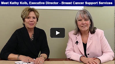Breast Cancer Support Services began in 1993 with a group of breast cancer survivors and family members with a goal to provide hope, information and support to those being affected. Hear more with Executive Director, Kathy Kolb.