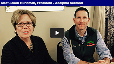 Jason Hurleman is the president of Adelphia Seafood – the region's leading fresh fish and seafood provider for both retail and wholesale customers!