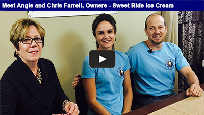 Angie and Chris Farrell have grown Sweet Ride Ice Cream from an ice cream bike, to a mobile ice cream parlor, to recently opening a storefront on Penn Avenue! Hear more in the interview with Karen Marsdale, Chamber CEO/President.