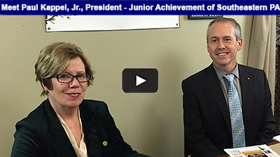 Junior Achievement of Southeastern PA provides business, economic, and life skills to young people – and, they're back in Berks!