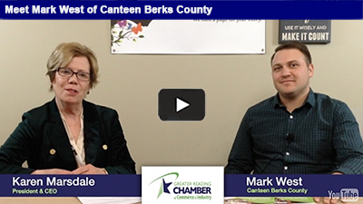 Canteen Berks County is a full line vending company, but also offers so much more! Get the full story with Mark West.