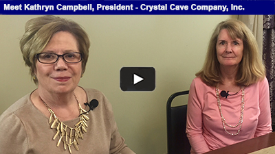 Discovered in 1871, Crystal Cave has a long-standing history in Berks County. Hear more from Kathryn Campbell in this intriguing interview with Chamber President, Karen Marsdale.