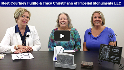 Committed to customer service and compassion, Imperial Monuments is a full-service memorial company led by Tracy Christmann. Check the interview out here with Chamber President, Karen Marsdale.